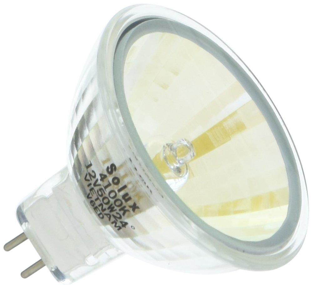 Eiko 18014 Q50MR16/CG/41/24 Solux Halogen Bulbs