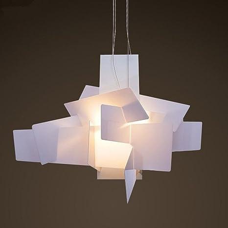 Moderno lampadario a sospensione per camera da letto e soggiorno  minimalisti, 2 bulbi, illuminazione E27, diametro 65 cm Amazon.it  Illuminazione