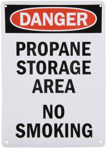 SmartSign Aluminum OSHA Safety Sign, Legend