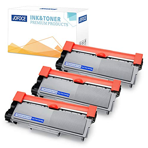 Jofoce 3 Pack Replacement for Brother TN660 TN-660 TN630 TN-630 Toner Cartridge High Yield, Compatible with Brother HL-L2340DW MFC-L2700DW DCP-L2540DW HL-L2380DW HL-L2300D MFC-L2740DW DCP-L2520DW