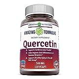 amazing nutrition Quercetin 500 Mg 120 Vcaps 120 count