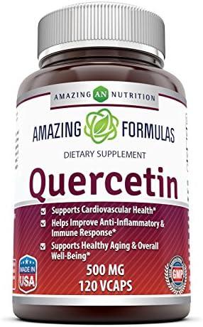 Amazing Nutrition Quercetin 500 Mg 120 Vcaps
