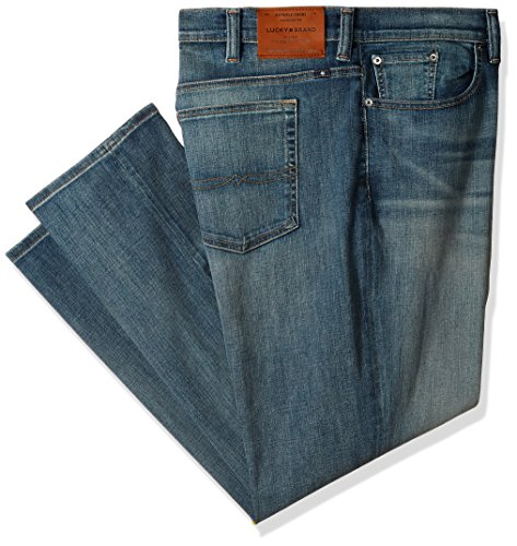 Lucky Brand Men's Big and Tall 410 Athletic Jean, Beckville, 52X30 by Lucky Brand
