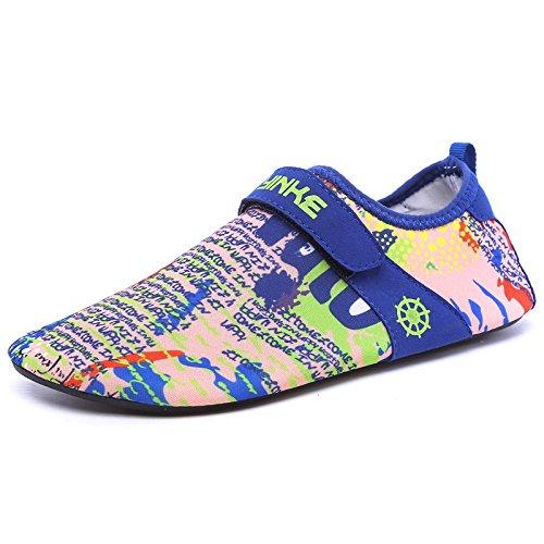 de rápido Zapatos zapatos camuflaje Lucdespo de Zapatos playa esquí S12 transpirable de calzado amantes secado acuático zapatos natación piel la descalzos UUn67p