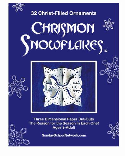 Chrismon Snowflake Ornaments: 32 Christ-Filled - Ornament Filled