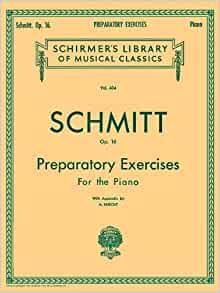 MUSIC BOOK NOS 1 SCHMITT/'S FIVE FINGER EXERCISES ADAPTED FOR ACCORDION No
