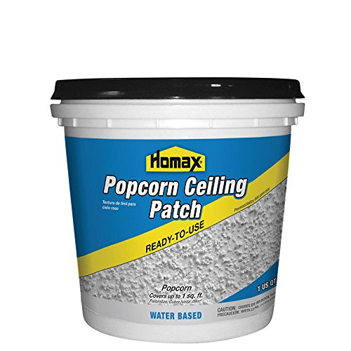 Popcorn Ceiling Patch, White, 1 Quart., Ceiling Repair ()