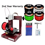 Afinia H-479 3D Printer + 2nd Year Warranty + 3D Printer knife set + Octave ABS 1.75mm Filament 4 spools Picture