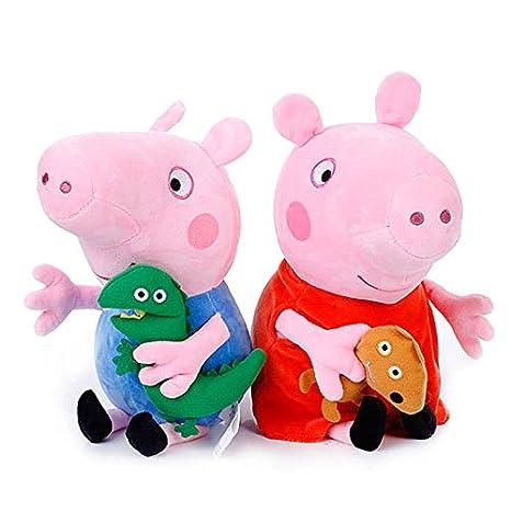 mmurong Felpa Juguete Almohada juguetes4 unids Peppa Pig ...