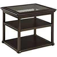 Ashley Florentown End Table in Dark Brown