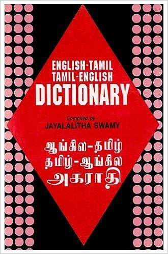 Online-kirja ladataan ilmaiseksi English-Tamil and Tamil-English Dictionary 8176500461 CHM