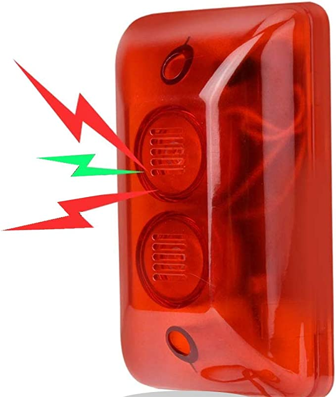 luce di avvertimento magnetica Villa Luce di segnalazione wireless Siren stroboscopica // luce di segnalazione senza fili luce a LED blu luce lampeggiante per fattoria