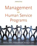 Management of Human Service Programs (SW 393T 16- Social Work Leadership in Human Services Organizations)