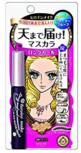 HEROINE MAKE Long and Curl Mascara Super Waterproof 01 Jet Black
