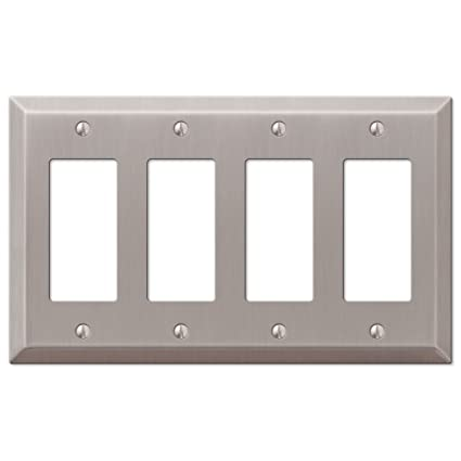 Traditional Design Wall Switch Plates And Outlet Cover 4 Rocker