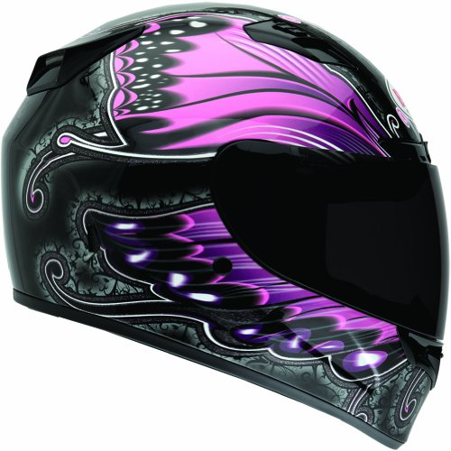 Bell Monarch Women's Vortex Street Bike Motorcycle Helmet - -