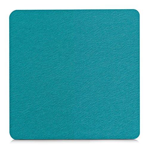 Unbekannt Filz Untersetzer 17x17 Cm Türkispetrol Blau Amazonde