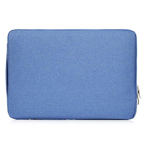 (FuriGer Laptop Sleeve,15-15.4 Inch MacBook Pro/Pro Retina Case Sleeve Cover Ultrabook Netbook Laptop Bag Briefcases-Blue)