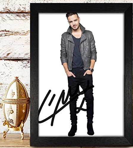 FRAMED Payne Liam Signed Autographed Photo 4x6 Reprint RP PP - One Direction