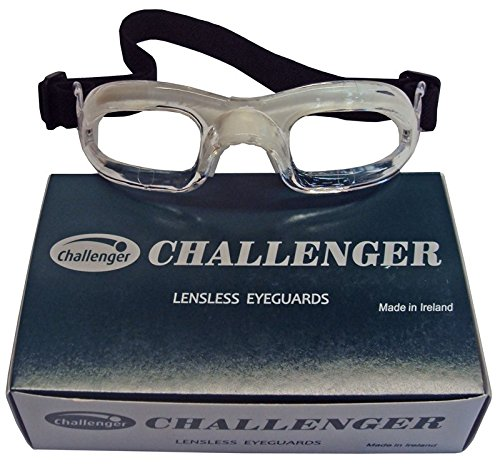 Challenger Lensless Eyeguards - Clear -
