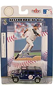 New York Yankees 2004 MLB Limited Edition Die-Cast 1:64 H2 Hummer with Derek Jeter Trading Card