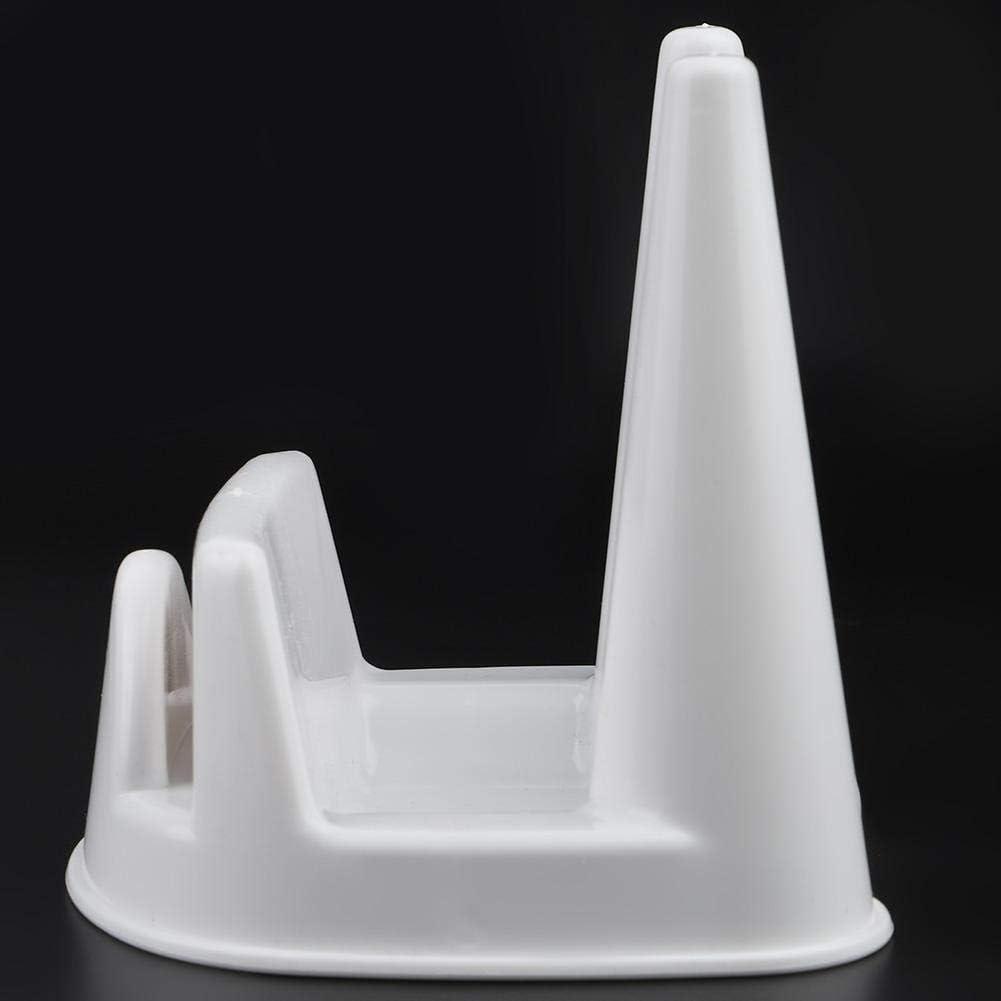 White Zerone Multifunctional Household Pot Lid Storage Rack Kitchen Holder Organizer