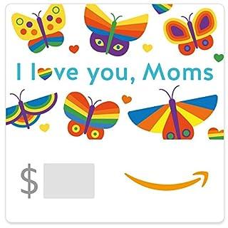Amazon eGift Card - I Love You Moms ( Mother's Day Butterflies) (B06XW31P26)   Amazon price tracker / tracking, Amazon price history charts, Amazon price watches, Amazon price drop alerts