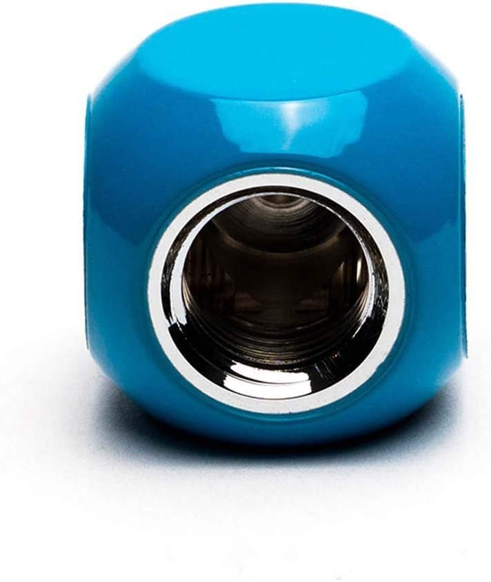 PrimoChill G1//4 3-Way Multi-Way Fitting Connector SX Sky Blue