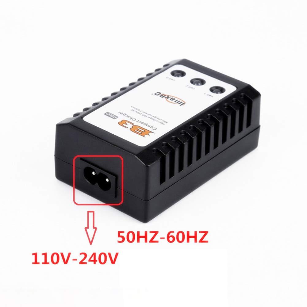 Redcolourful RC Toy B3 LiPo 10W Caricabatterie Simple Balance 2s-3s Batteria al Litio 7.4v 11.1v PRO Caricabatterie Compatto B3AC U.S