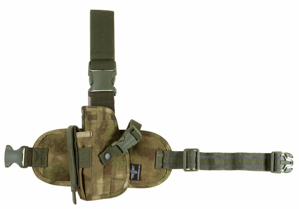 Invader Gear Tactical Leg Holster Panel Holster Everglade Camo Left Handed