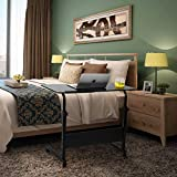 SIDUCAL Tray Table, Adjustable Sofa Side Bed Table