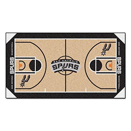FANMATS NBA San Antonio Spurs Nylon Face NBA Court Runner-Small