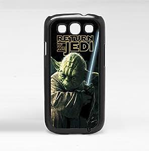 Colorful Retro Yoda Jedi Master Art Hard Snap on Phone Case (Galaxy s3 III)