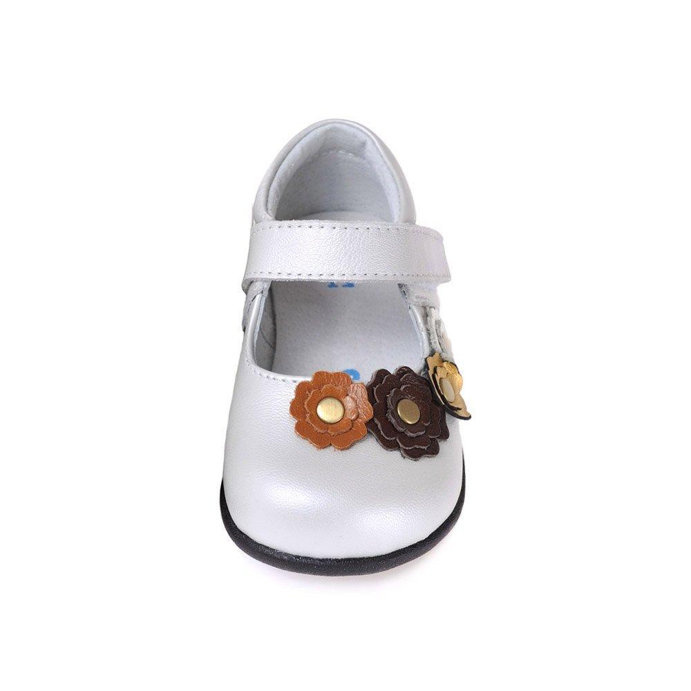 HLT Toddler//Little Kid Blossoming Flowers Mary Jane Dress Shoe