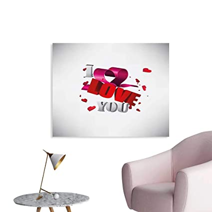 Amazon Com J Chief Sky I Love You Wall Paintings 3d Design