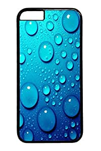 iphone 6 4.7inch Case iphone 6 4.7inch Cases Blue water drops Polycarbonate Hard Case Back Cover for iPhone 6 black