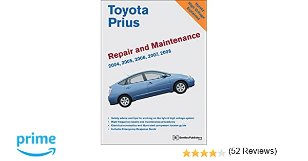 Toyota prius repair and maintenance manual 2004 2008 bentley toyota prius repair and maintenance manual 2004 2008 bentley publishers 9780837617664 amazon books fandeluxe Image collections