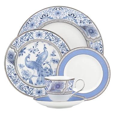 Lenox Marchesa Couture 5-Piece Place Setting, Sapphire Plume