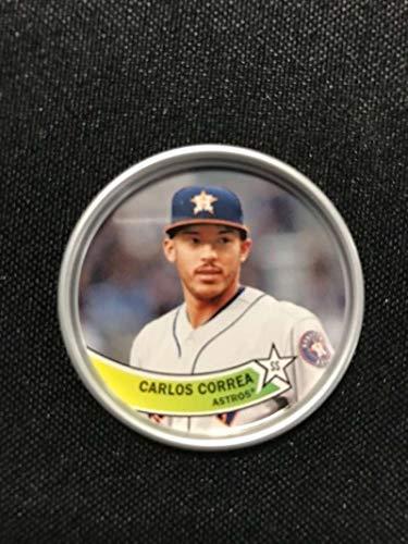 2018 Topps Archives Baseball 1980s Coins #C-6 Carlos Correa Houston Astros