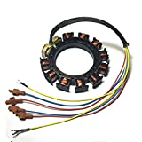 JETUNIT Genuine outboard 9 amp Stator Assy Maganet Coil For Mercury 30-85hp 3&4 cylinder 398-5454 A21 A22 A24 A25 A26 174-5454K1