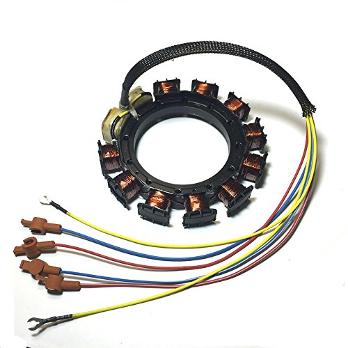 JETUNIT Genuine outboard 9 amp Stator Assy Maganet Coil For Mercury 30-85hp 3&4 cylinder 398-5454 A21 A22 A24 A25 A26 ()