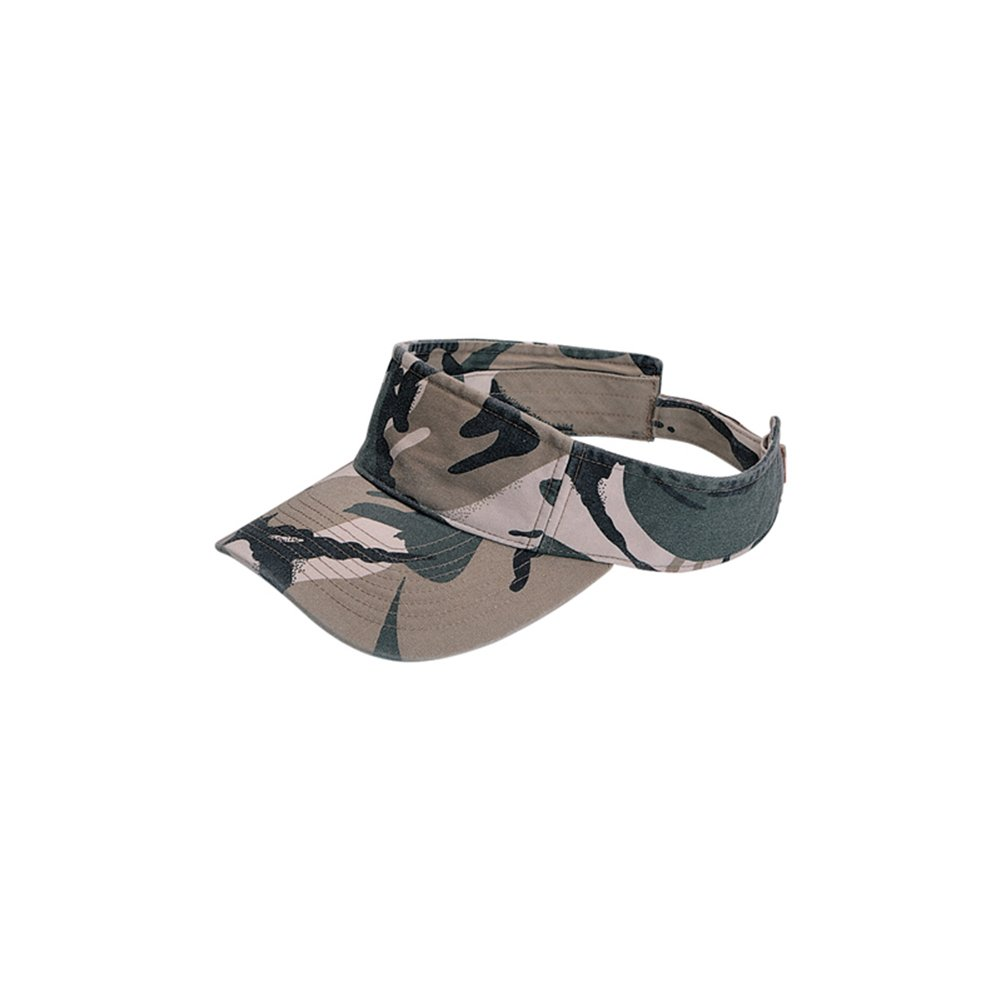 MG Camouflage Pattern Washed Outdoor Sun Visor 9021-camo
