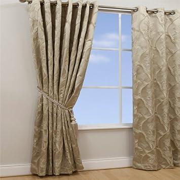 ScatterBox 168 x 229 cm Chelsea Curtains, Parchment: Amazon.co.uk ...
