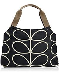 Etc Giant Linear Stem Classic Zip Shoulder Bag Shoulder Bag