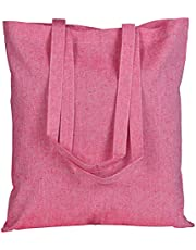 EcoFactoryDirect Cotton & Recycled Cotton 15X16 inch reusable bags 5.5