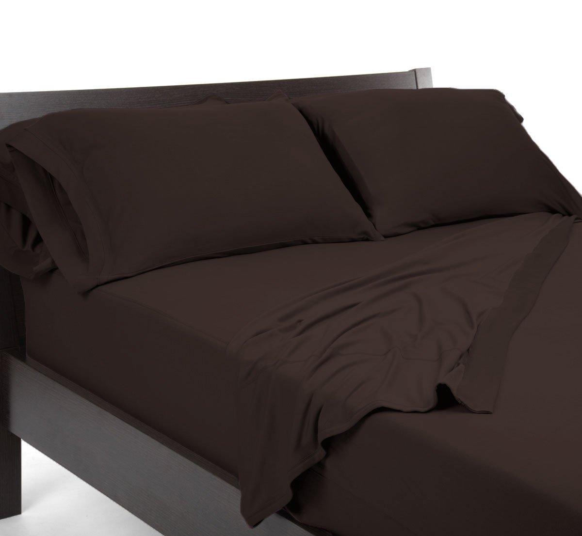 SHEEX REVERSIBLE Pillowcase, Brown (Standard)