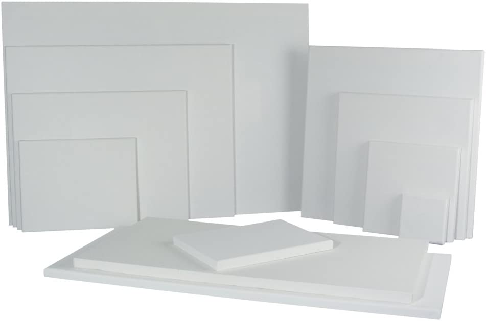 100/% cotone Rayher 6236700/Telaio 40/x 60/x 1,7/cm
