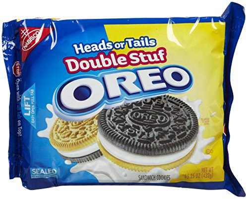 OREO Heads or Tails Cookie, 15.25 Oz