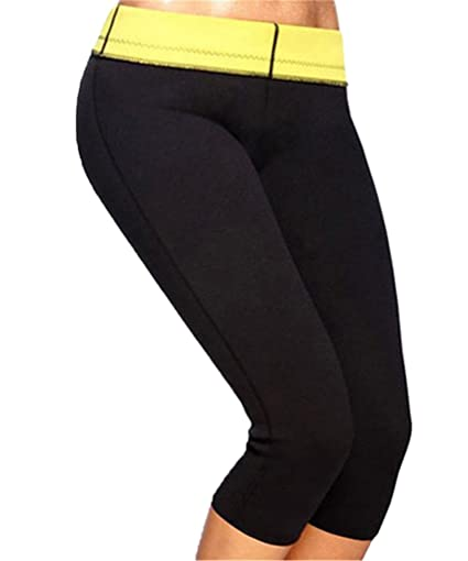 607fb4bf107 Amazon.com   FUT Womens Slimming Pants Hot Thermo Neoprene Sweat Sauna Body  Shapers for Weight Loss   Sports   Outdoors