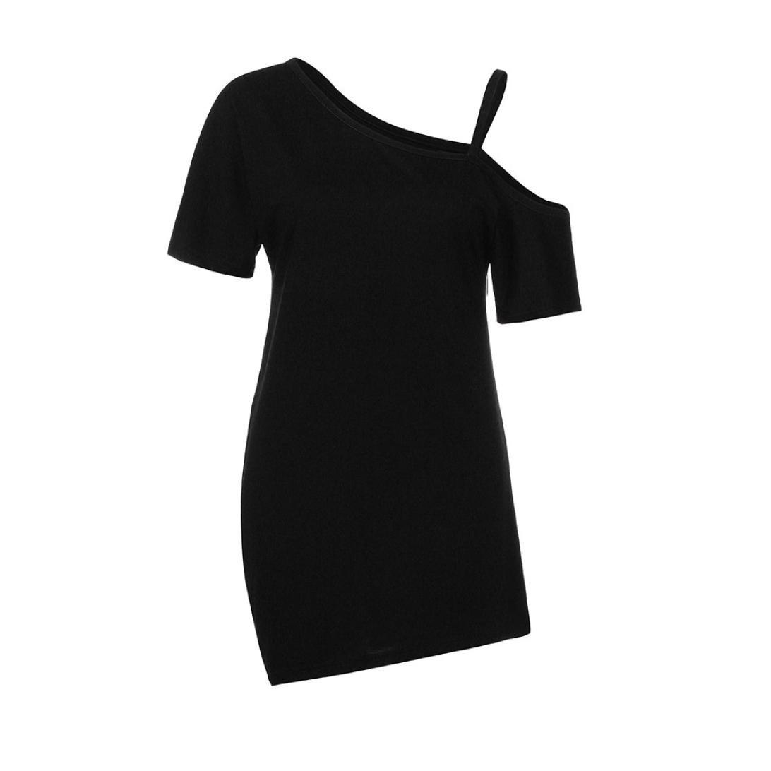 Amazon.com: topunder – Mujer frío hombro Tops camisetas de ...